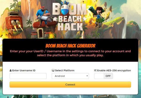 boom beach hack 2018 private server