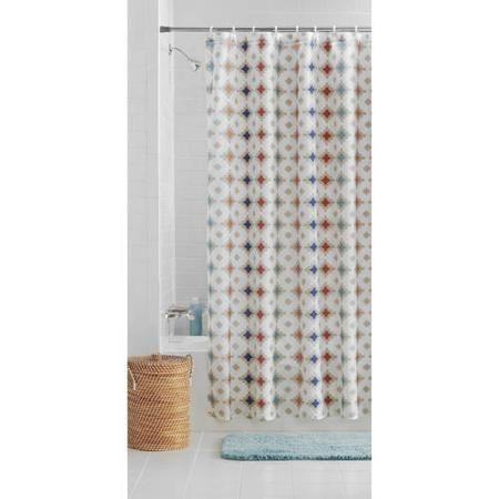 Better Homes And Gardens Southwest Geo Shower Curtain Walmart