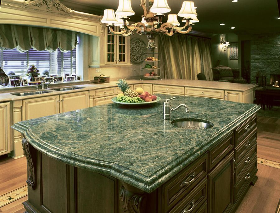 emerald green granite kitchen countertop ideas green granite countertops granite countertops on kitchen ideas emerald green id=81906
