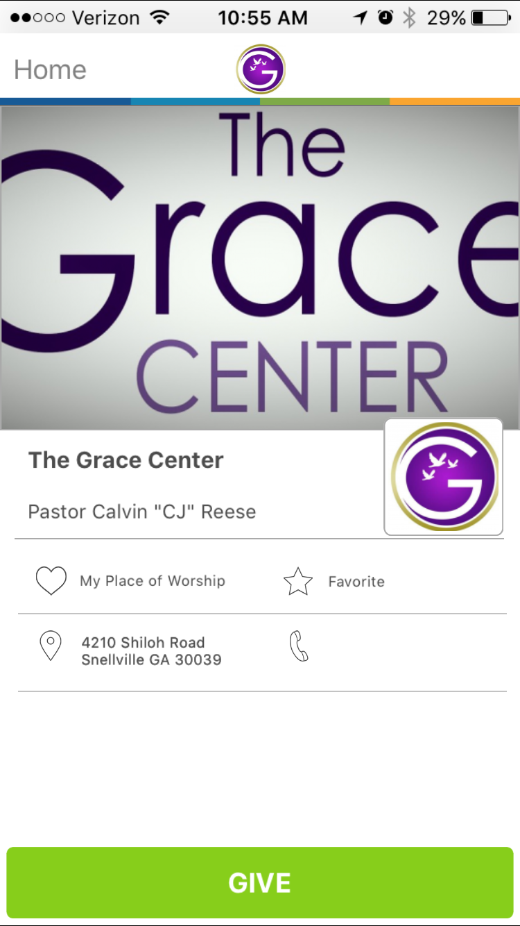 The Grace Center in Snellville, GivelifyChurches