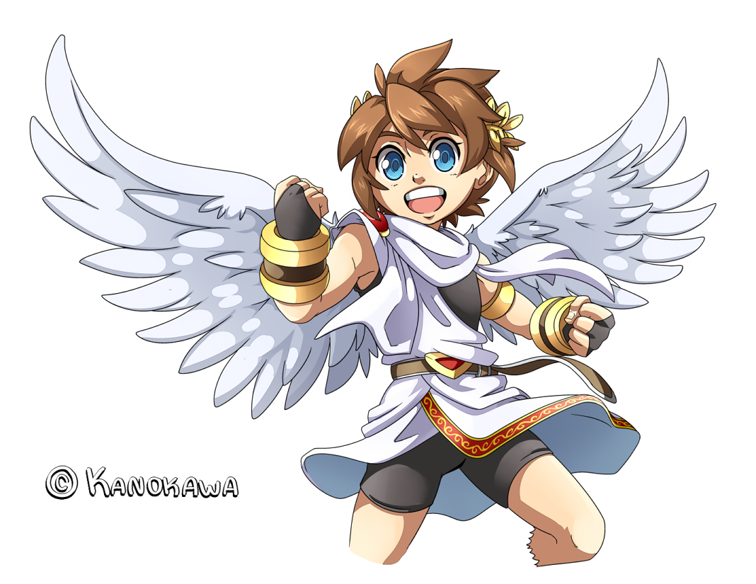 Kid Icarus Uprising Pit Illustration By Kanokawadeviantart On DeviantArt