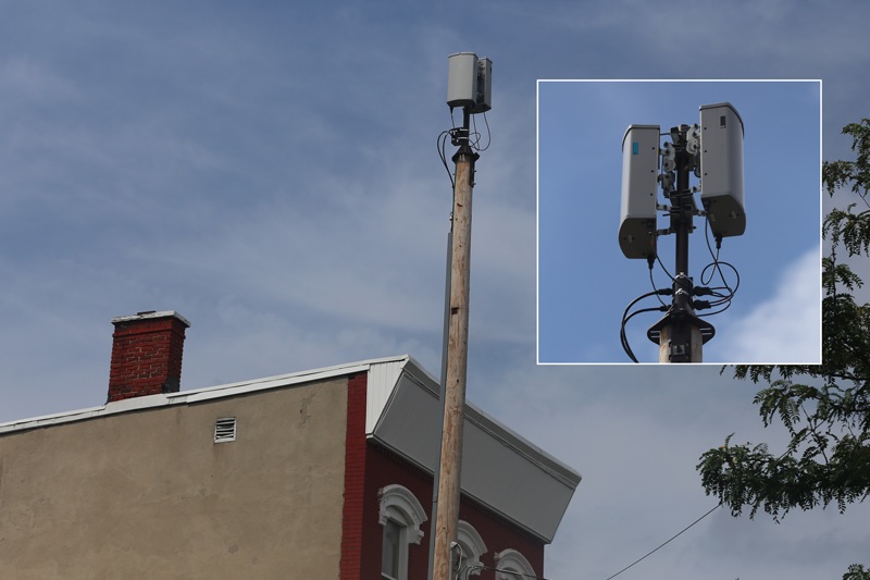 A Smell Cell Antenna In Newark Photo Verizon Wireless