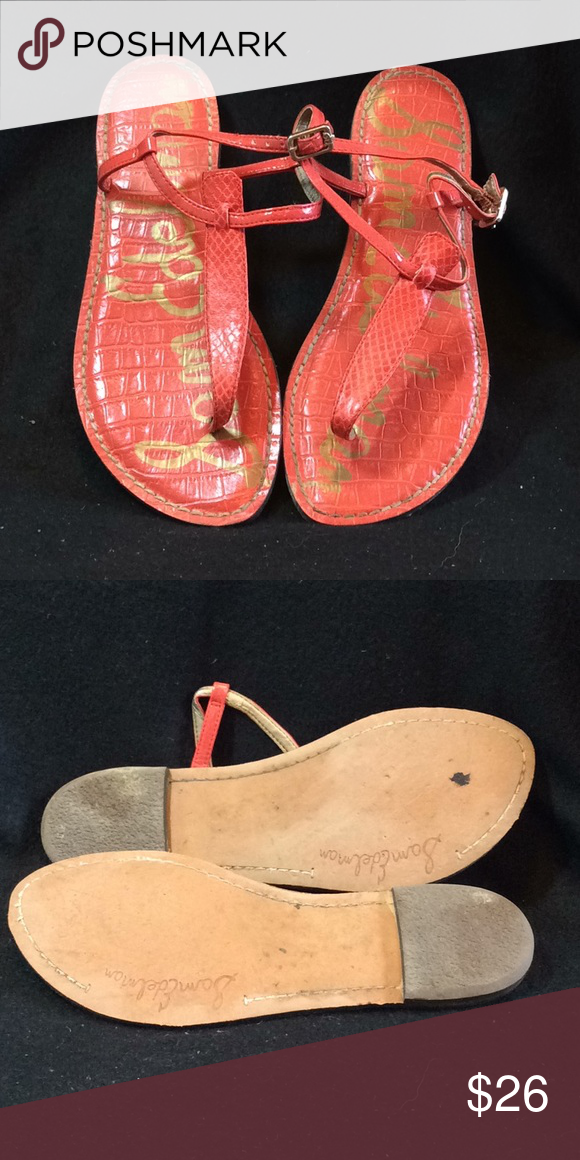 b6697d1494f0 🌸🌼Host Pick🌼🌸 Sam Edelman Gigi Thong Sandals Sam Edelman Gigi Thong  Sandals. Lightly worn. Man made materials Sam Edelman Shoes Sandals