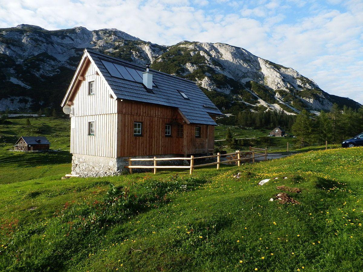 Thürlhütte-Tauplitzalm: horská chata Tauplitz Tauplitzalm -