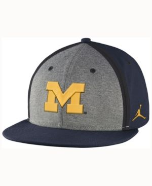 cheap for discount ea551 bb98b Nike Michigan Wolverines Sideline True Adjustable Cap - Blue Adjustable