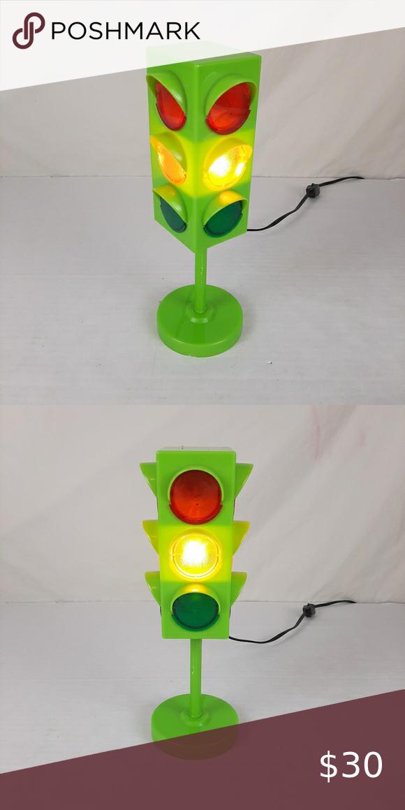 3 Color Traffic Light Electrical Desk Lamp In 2020 Lamp Desk Lamp Traffic Light