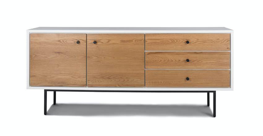 Bios 71 Sideboard In 2020 Mid Century Modern Sideboard Scandinavian Furniture White Sideboard