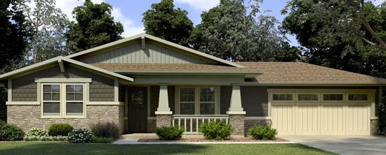 Attirant Single Story Home, Enhance, The Designed Exterior, Coordiniating Colors,  Design Trends,