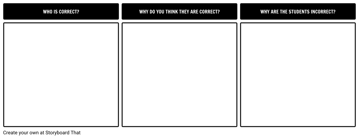 Science Discussion: The easiest way to use Storyboard That ...
