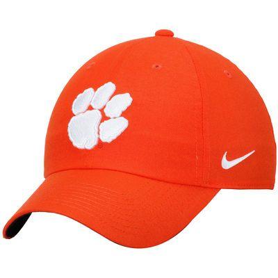 Nike Clemson Tigers Orange Heritage 86 Authentic Adjustable Performance Hat 3281d33164d