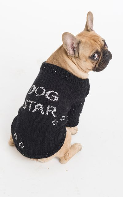Koiran Neulottu Dog Star Pusero Ja Bandana Huivi Ohjeet Novita Kevat 2013 Lehdessa 95330 Lanka Novita 7 Veljes Diy Dog Sweater Diy Dog Stuff Dog Clothes