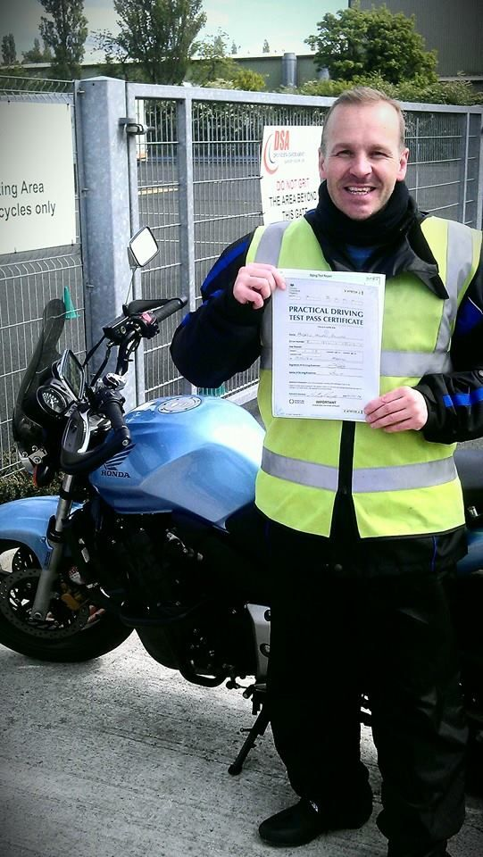 Nice one Andy #motorcycletrainingmanchester #cbtmanchester 0161 973 3450