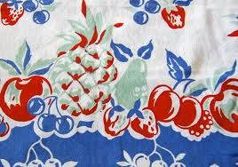 tablecloth from Granny.