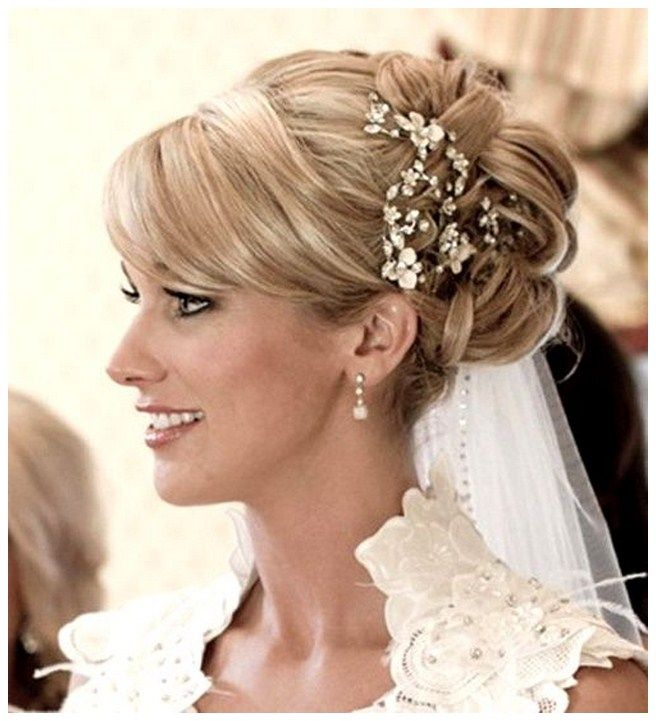 Wedding Hairstyles Long Hair : Wedding hairstyles long hair half up veil half up down