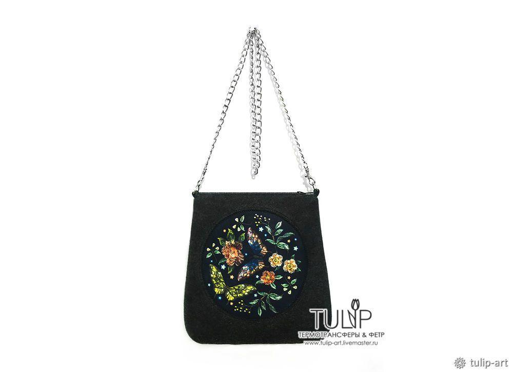 04b286d3b3d6 Шьем весеннюю сумку с имитацией вышивки: публикации и мастер-классы – Ярмарка  Мастеров