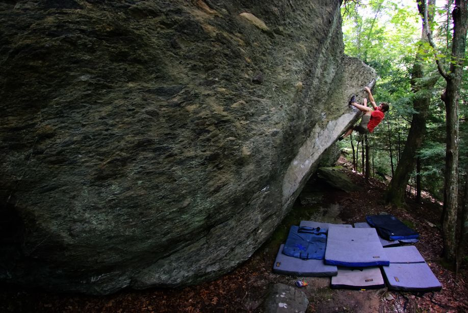 Good idea for practicing bouldering