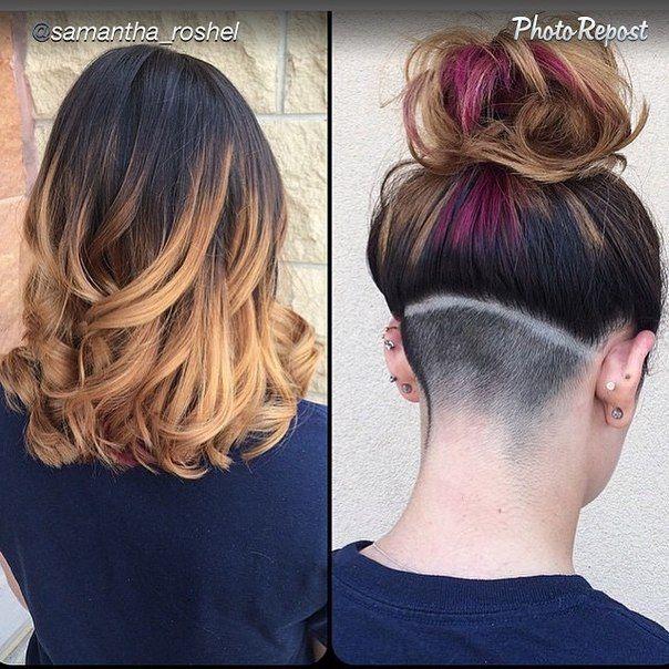 undershave hairstyles girls - google
