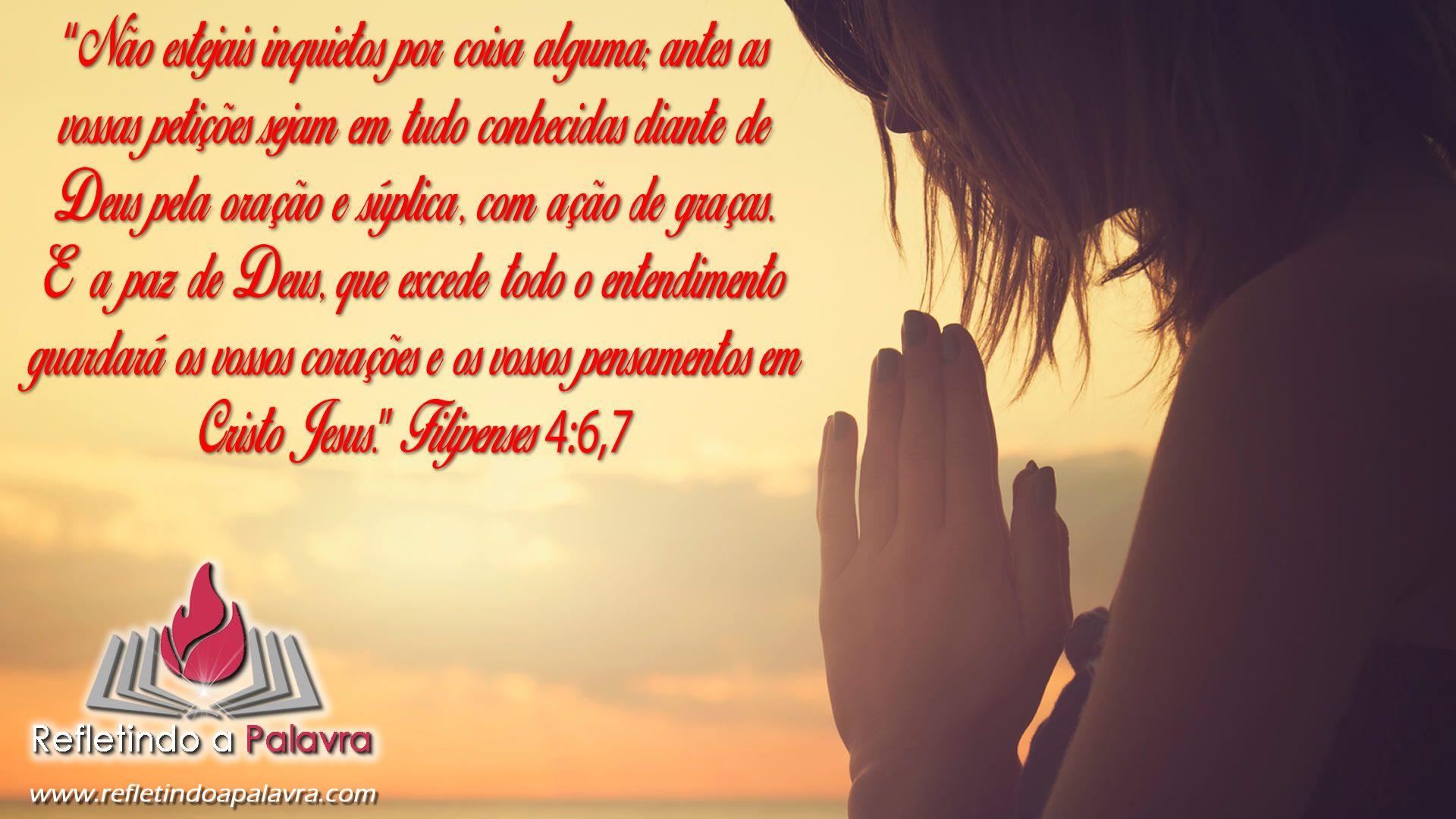 Filipenses 4 6 7 Palavra Cristo