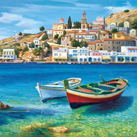 Golfo Mediterraneo Art Print