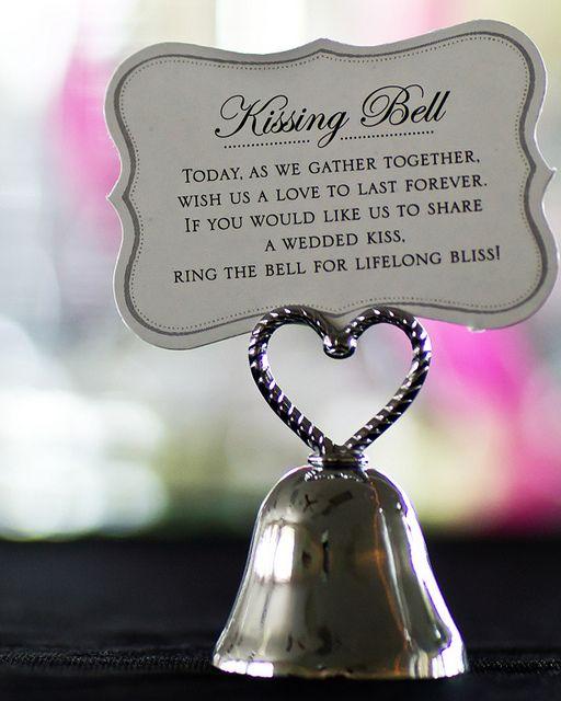 The Kissing Bell Kissing Bells Kissing Bells Wedding Wedding Poems