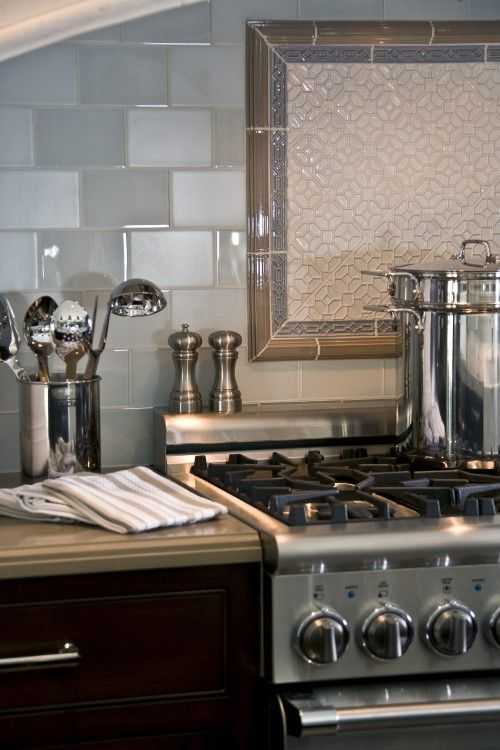 Mixing Matte And Gloss Wall Tiles Glossy Kitchen Easy Kitchen