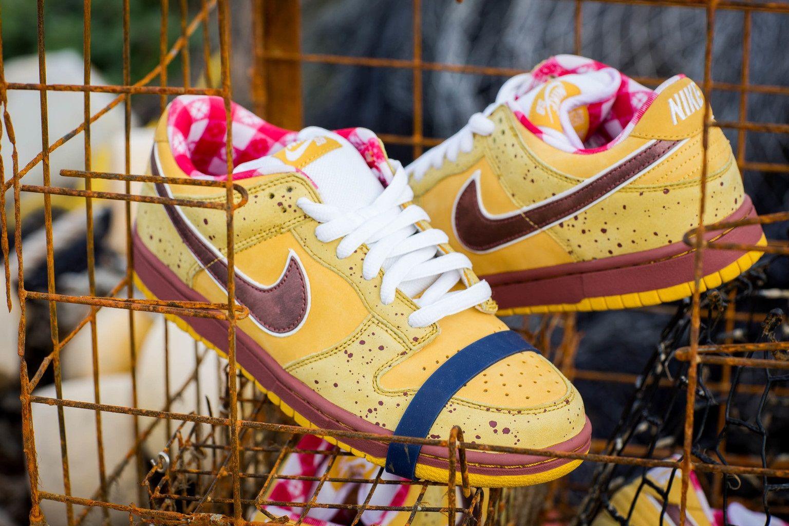 sale retailer 8eaf6 6f051 Nike SB Dunk Low Yellow Lobster