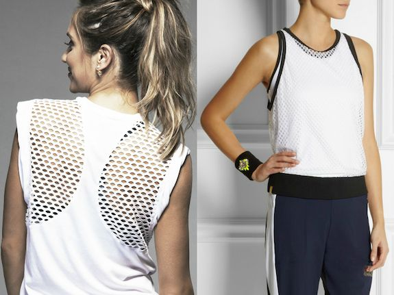 how to wear mesh top