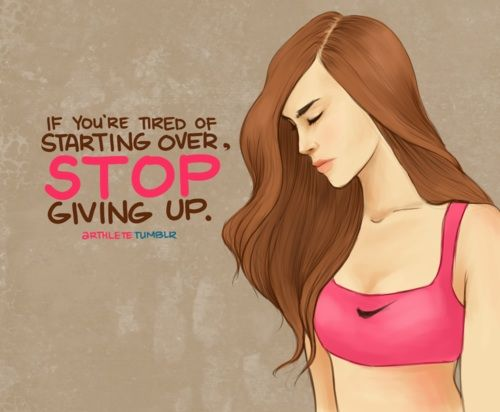 Stop giving up x