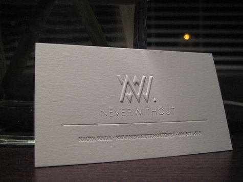 Add An Impressive Feature To Your Business Cards Through Customized Embossed Designs Hope You Will Love These Ideas