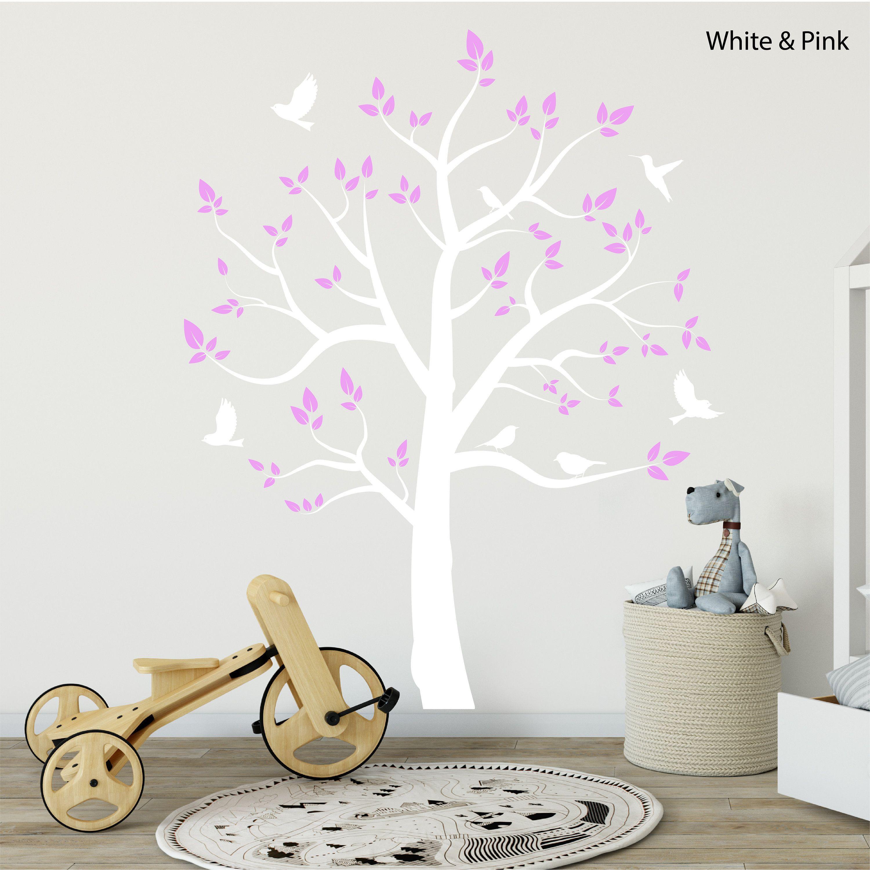 Best Elegant Tree Wall Decal Beautiful Nursery Wall Sticker 640 x 480