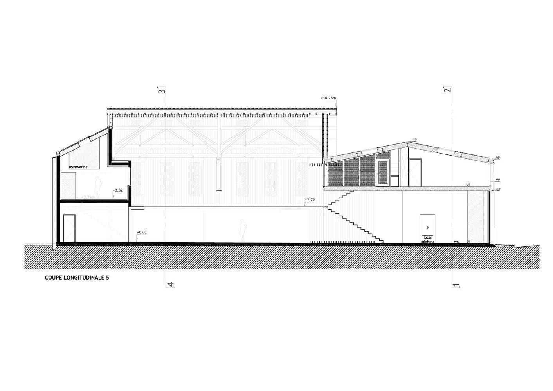 Gallery Of Atelier Zelium Atelier Du Vendredi 30 Work Space Floor Plans Building Visual addition carlisle pa