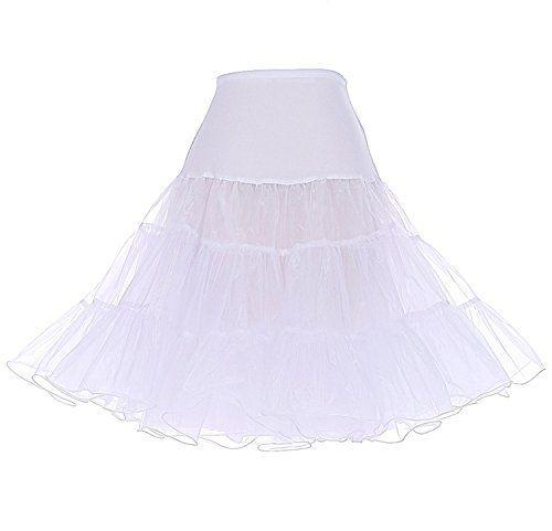 Rongstore® Women's 50s Vintage Rockabilly Petticoat, 25