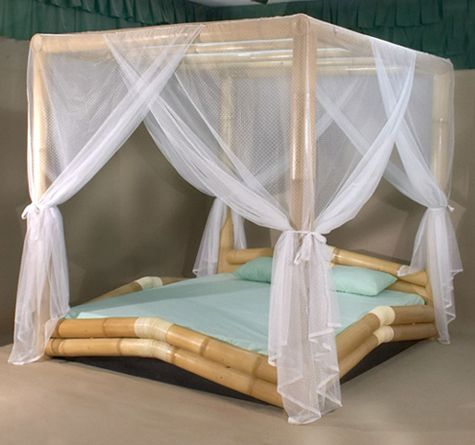 urlaubsfeeling Betten Pinterest Himmelbett, Bambus und Bett