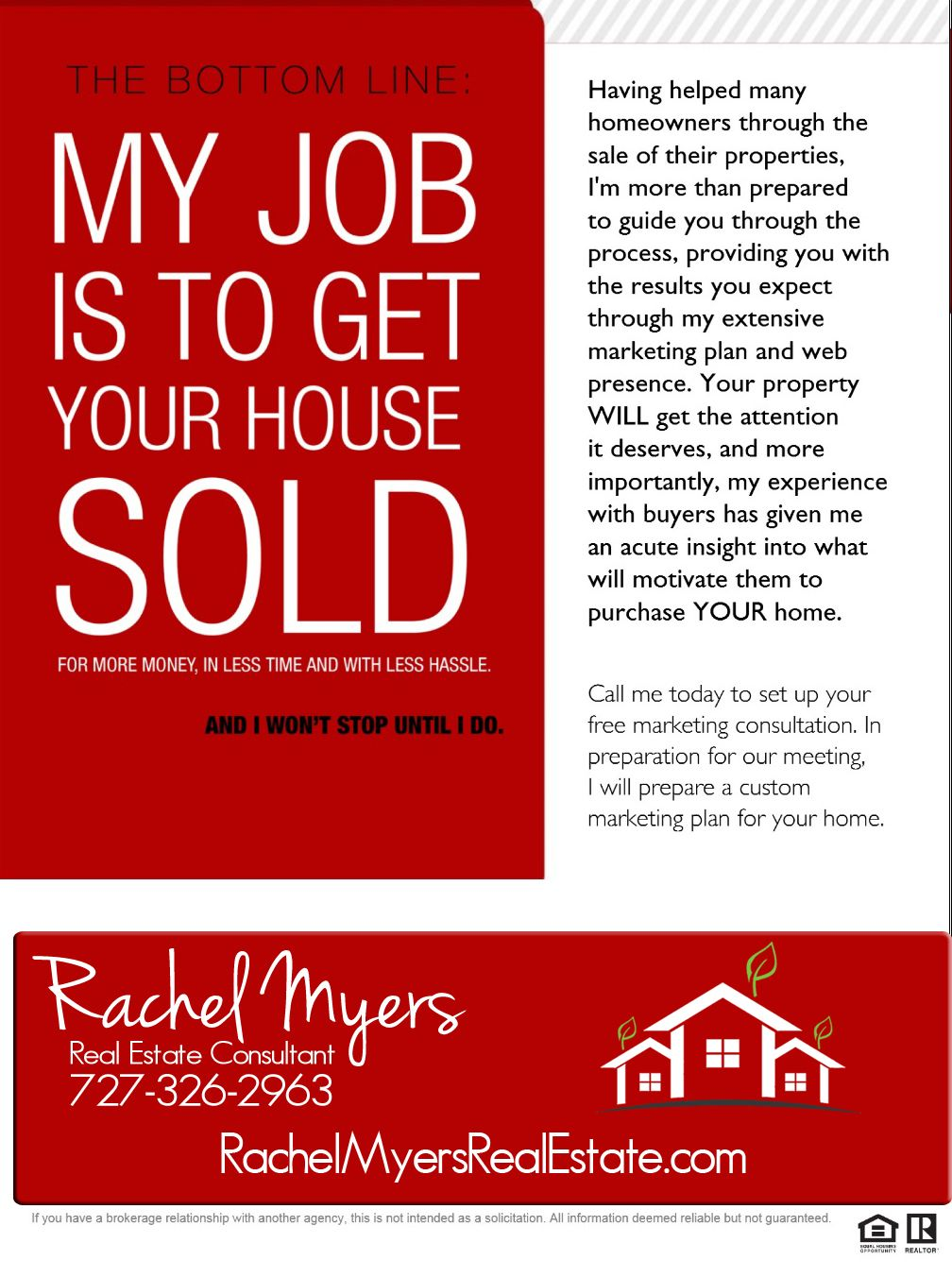 Its my job to get your house sold selling house how