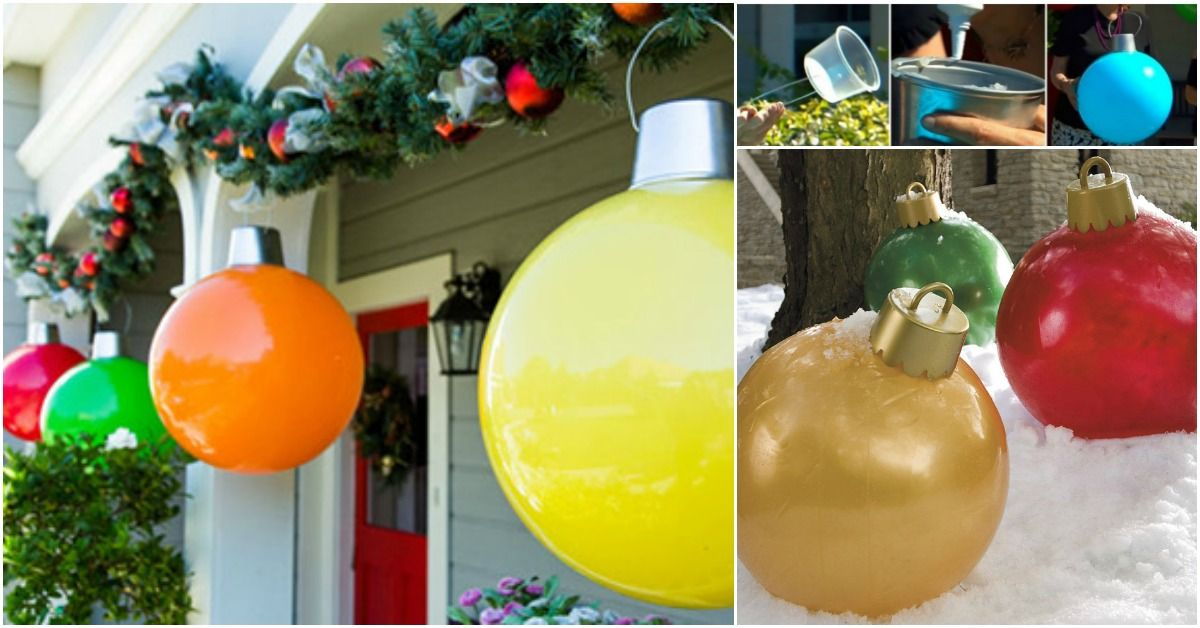 12+ Giant outdoor tree ornaments ideas in 2021