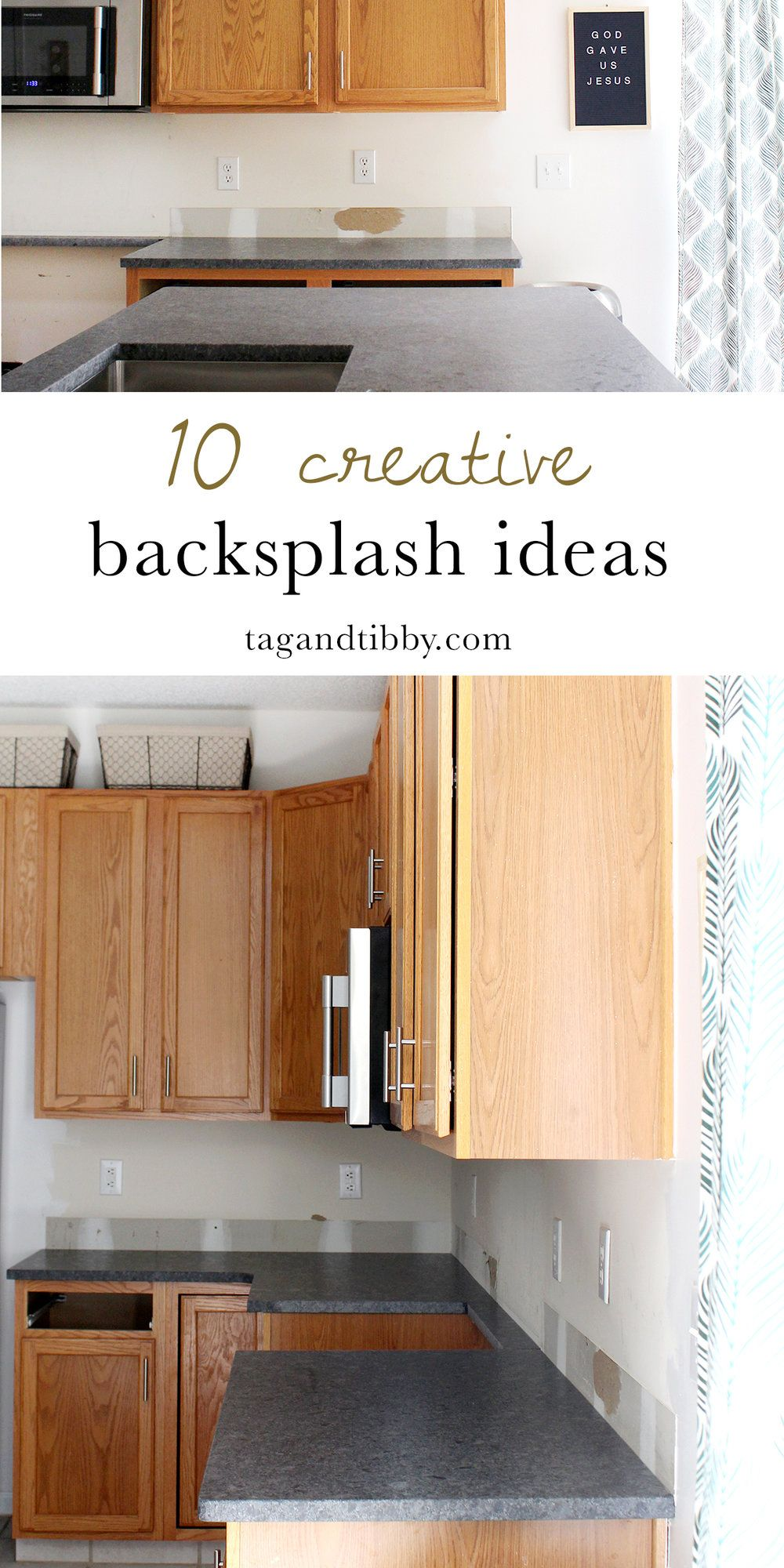 10 unique backsplash ideas for the kitchen from