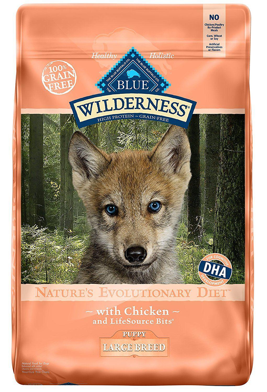 Blue wilderness high protein grain free puppy dry dog food
