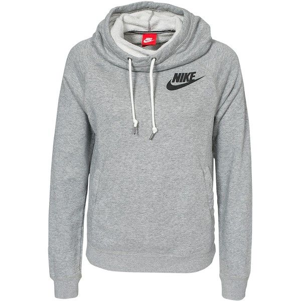 Nike Rally Funnel Neck Hoody (77 CAD) ❤ liked on Polyvore featuring tops a2b454283