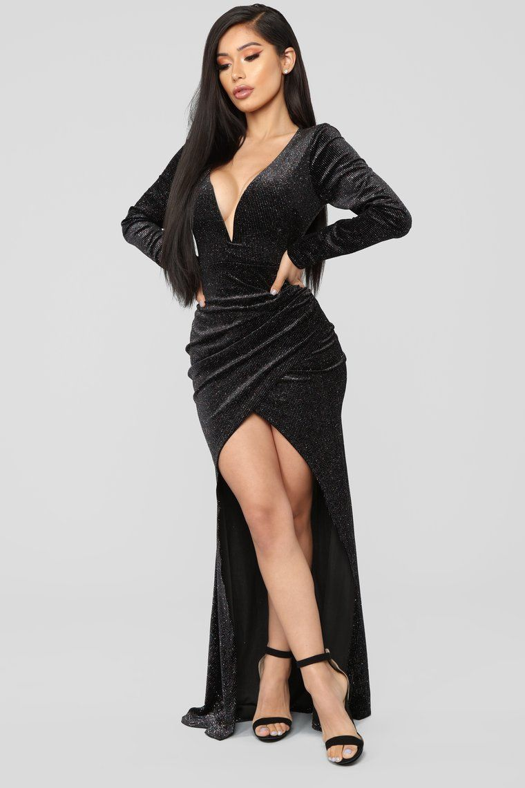 Black Tie Formal Velvet Dress Black White cocktail