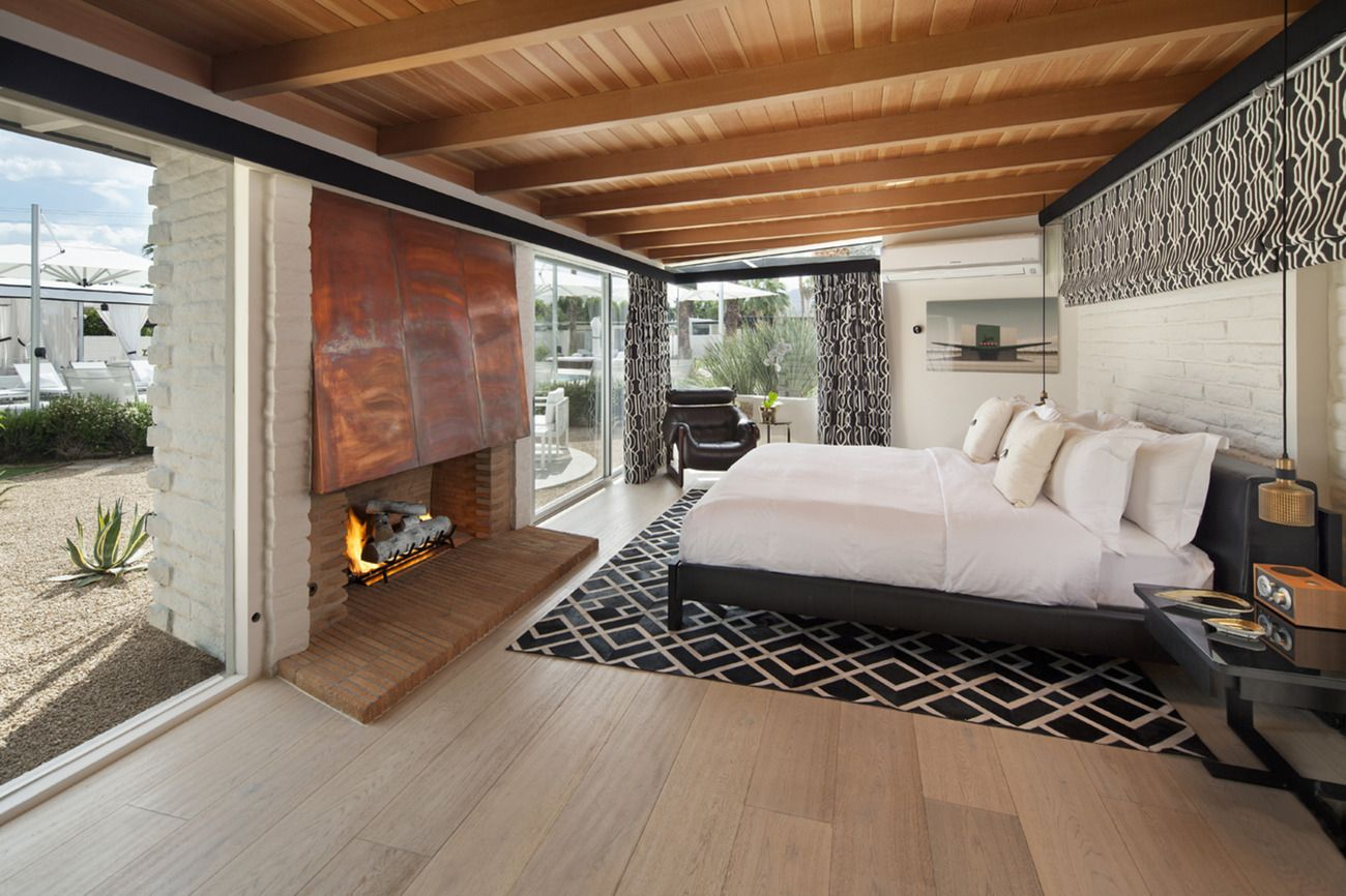 L Horizon Hotel And Spa Palm Springs Ca Steve Hermann Architecture Palm Springs Hotels California Bedroom Palm Springs Interior Design