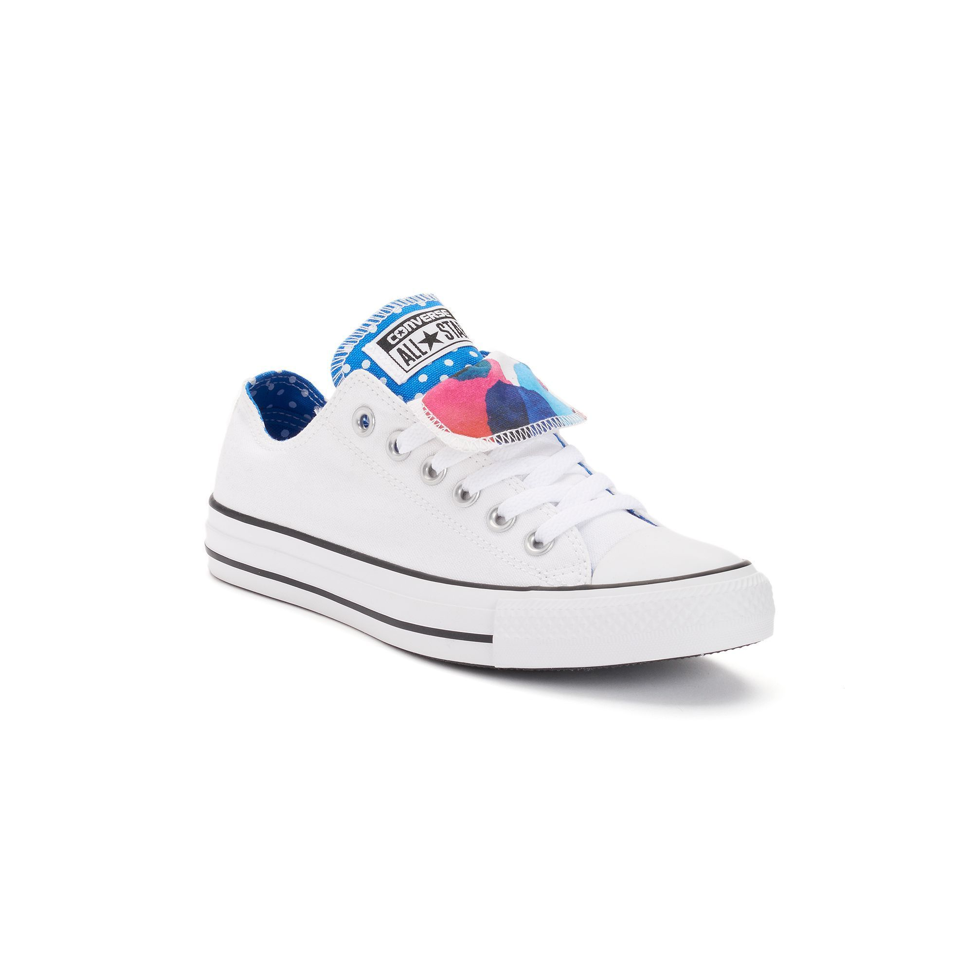 d86e57ec2d6cf0 Women s Converse Chuck Taylor All Star Double-Tongue Watercolor Shoes