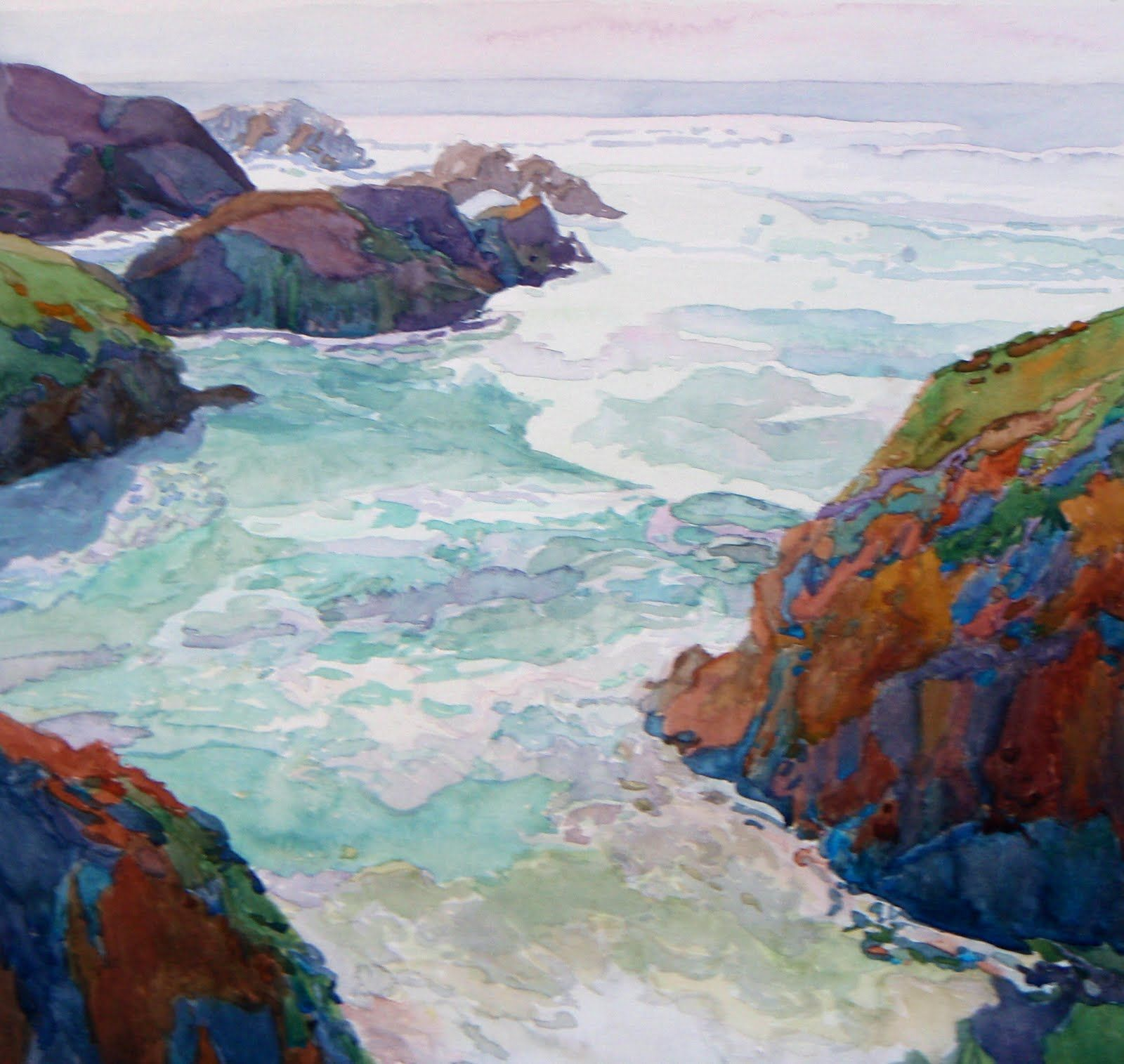 robin purcell california watercolors in the plein air tradition: May 2011