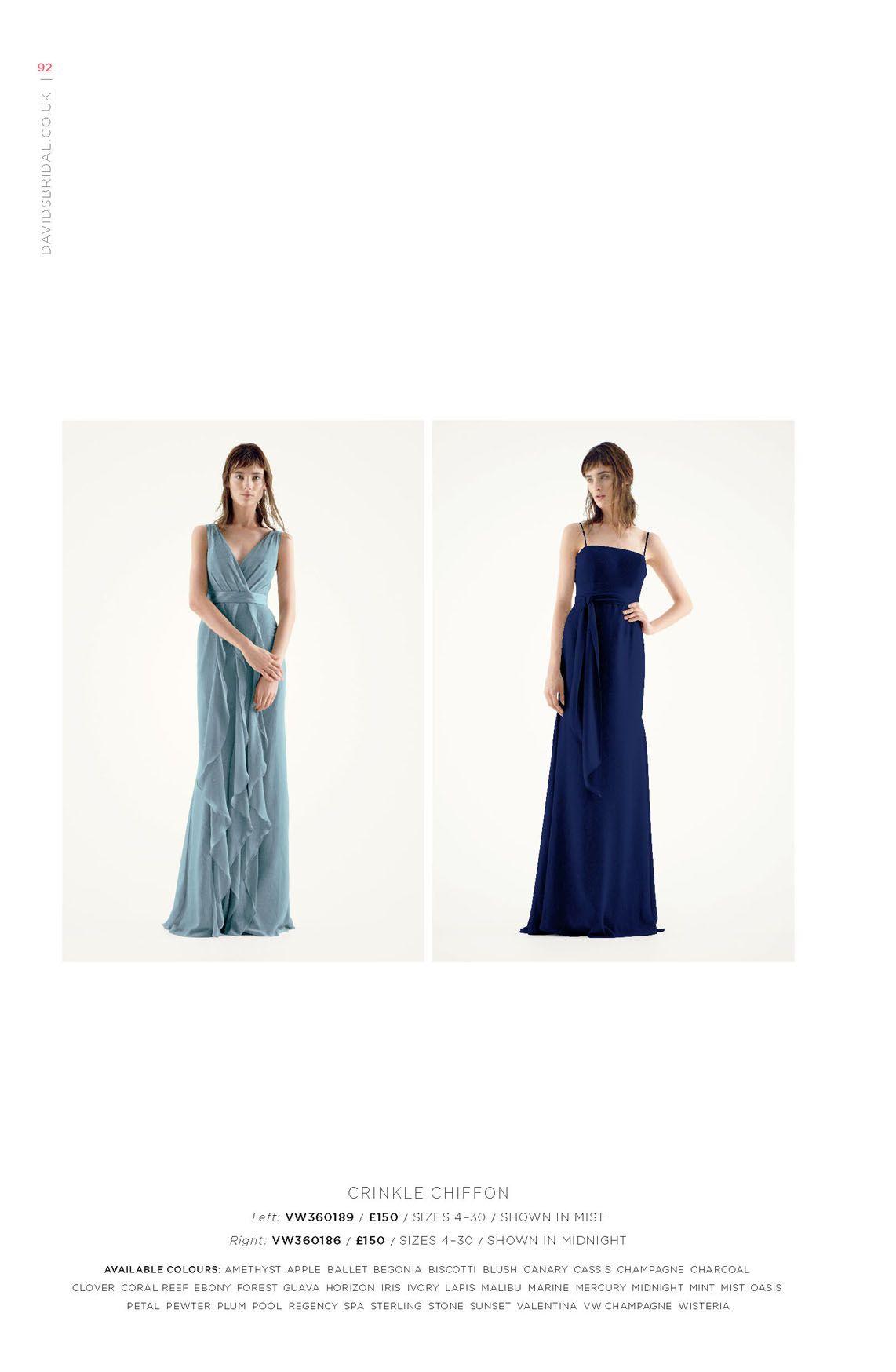 Littlewoods dresses for weddings  Davidus Bridal Online Catalog  Deeus bridesmaid board  Pinterest