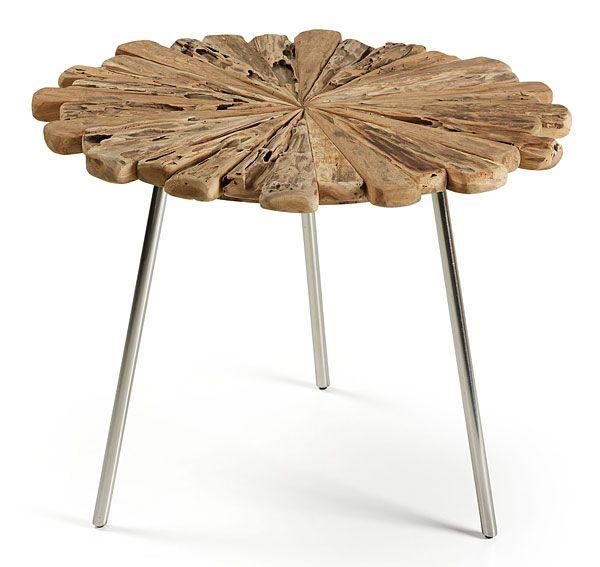 Mesa de centro saen material madera de teca mueble - Muebles de madera teca ...