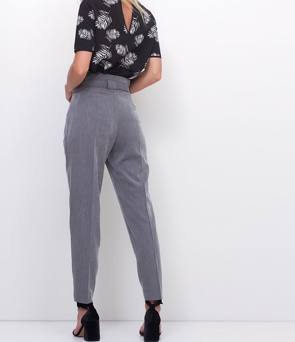 29e50f3c5c Calça feminina Modelo reta Com cinto Marca  Cortelle Tecido  Alfaiataria  Composição  100%