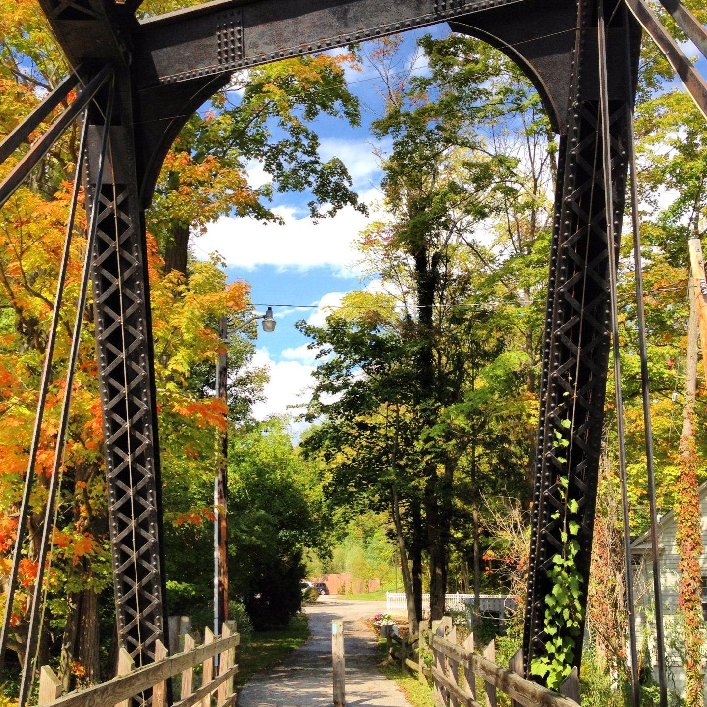 The Bridge Behind St Christophers Church Gates Mills Ohio