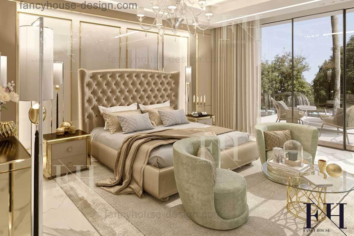Home Interior Design Dubai Luxury Bedroom Master Master Bedroom