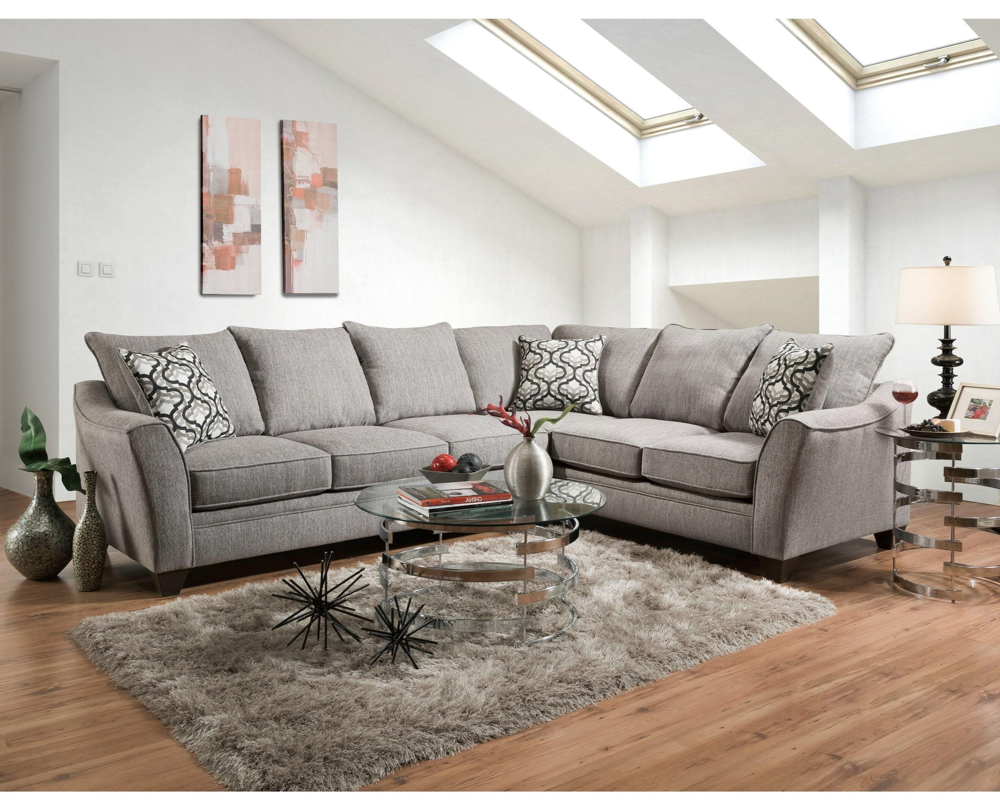 4810 5 Seat Sectional Sofa By American
