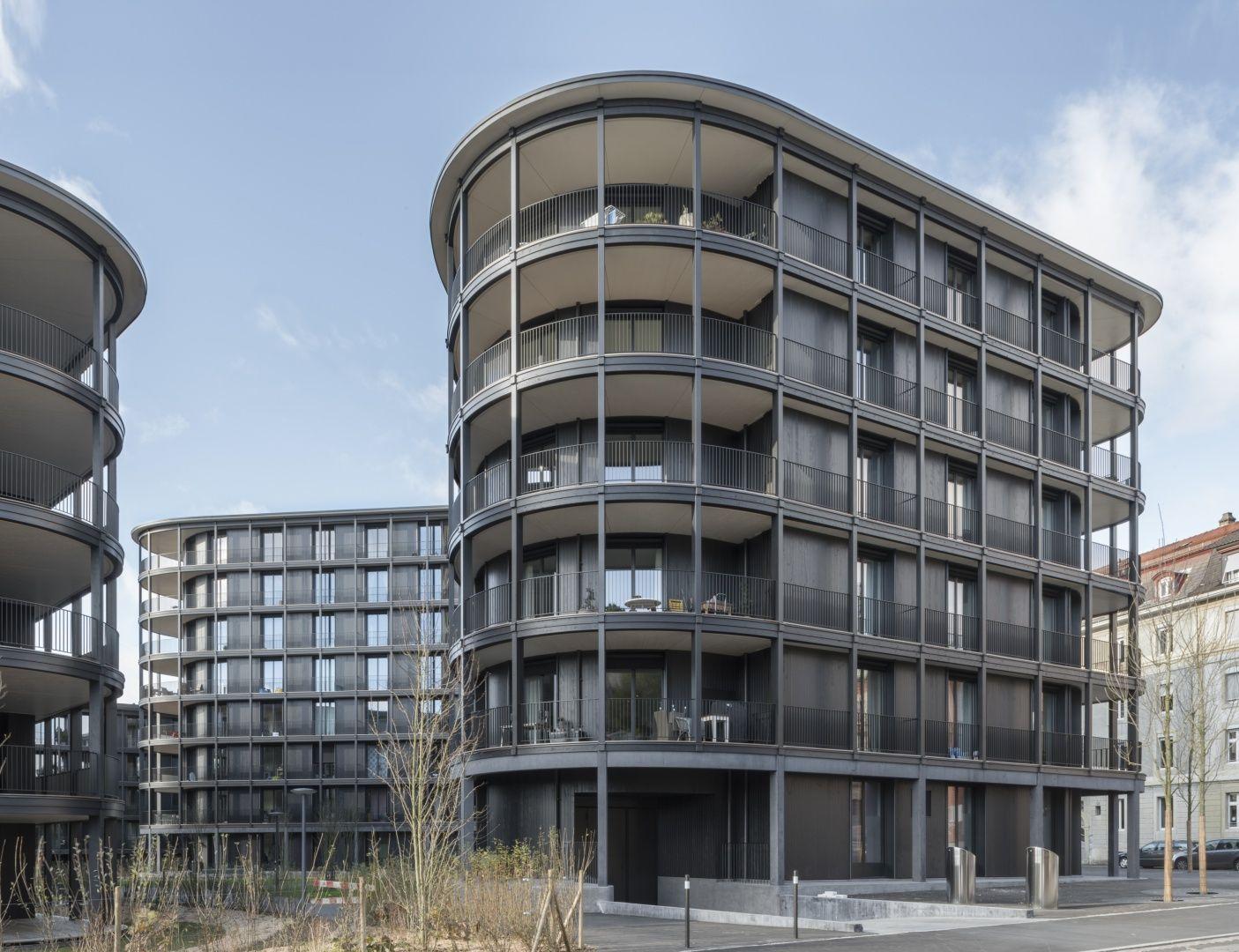 Wohnen am schaffhauserrheinweg basel 2014 - Architektur basel ...