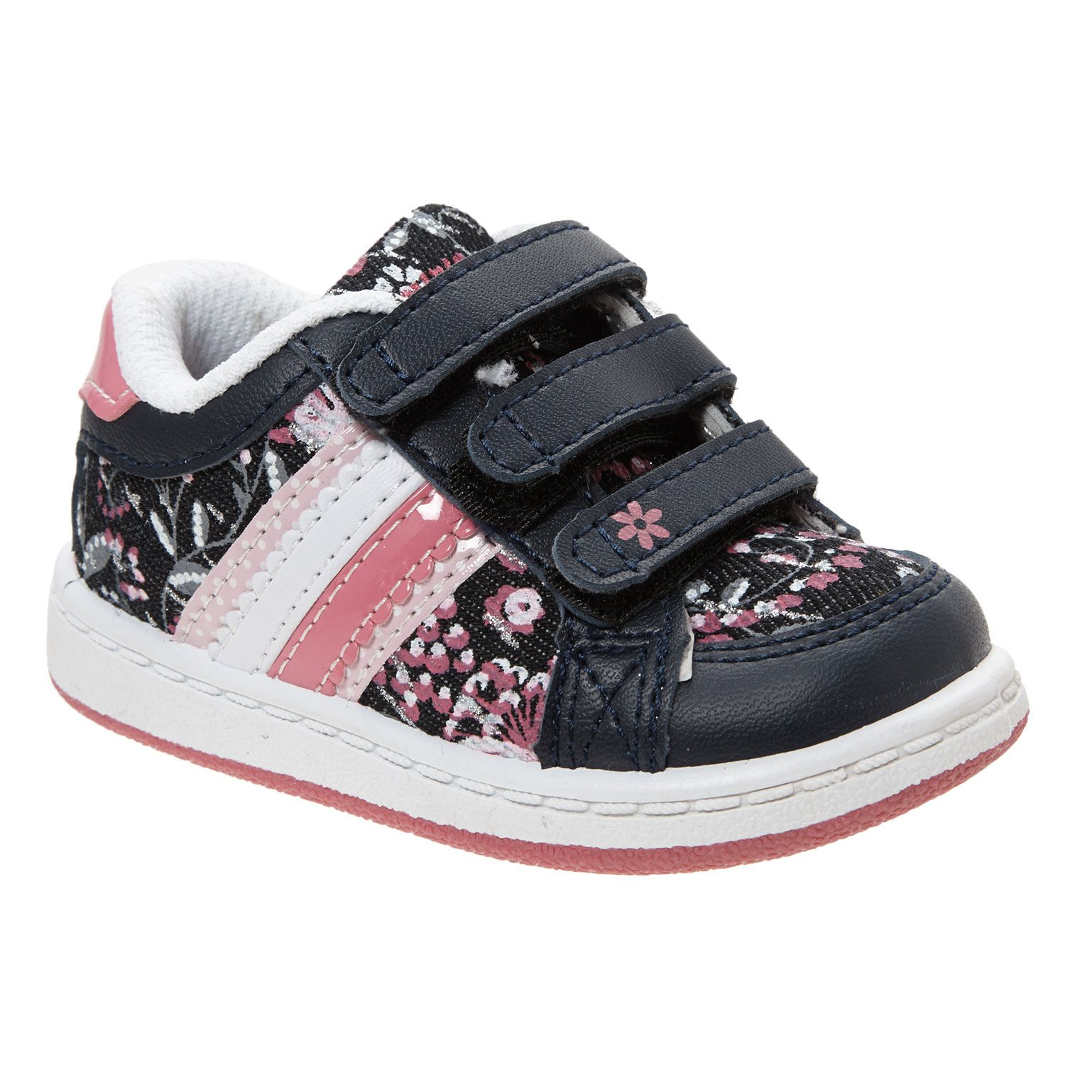 Mercury Navy Floral Trainers